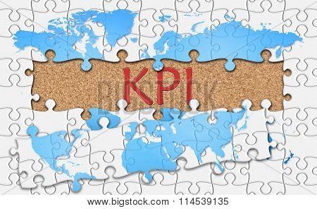 Jigsaw Puzzle Reveal  Word Kpi