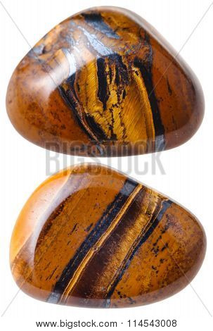 Two Tiger's Eye (tigers Eye, Tiger Eye) Gemstones