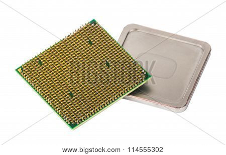 Disassembled Cpu On Removed Cover