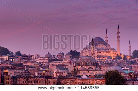 Istanbul before sunrise
