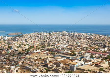 View Of Praia City In Santiago - Capital Of Cape Verde Islands - Cabo Verde