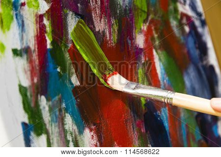 Painting With Acrylic Colors