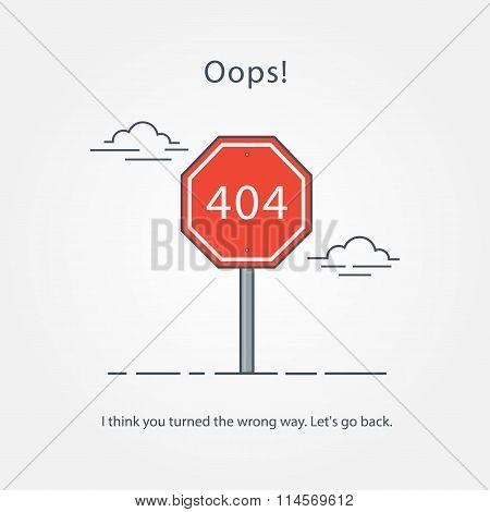 Concept Page 404 Error