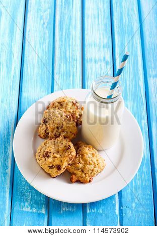 Oatmeal Applesauce Cookies
