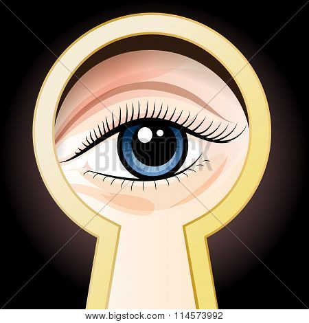 Look Through A Key Hole