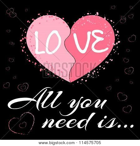 All You Need Is Love Black2