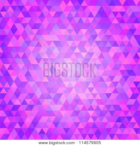 Shiny   background with purple triangles