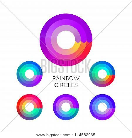 Colorful Circle Symbols