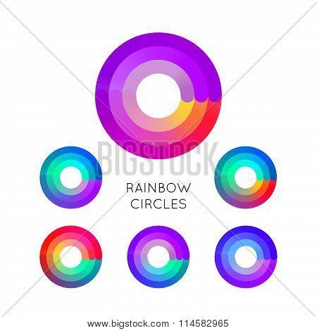 Colorful Circle Symbols
