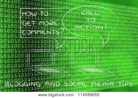 Blogging: Call To Action To Get More Comments
