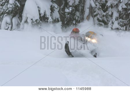 Snowmobile Powder