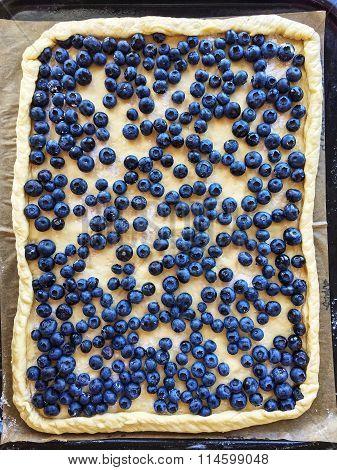 Blueberry Pie Preparation