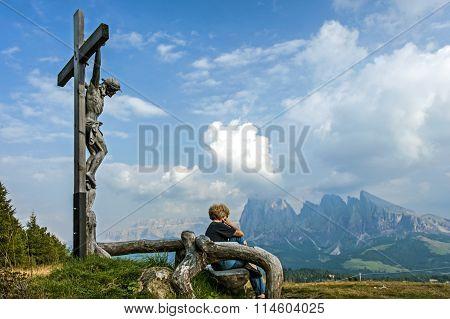 In Dolomites