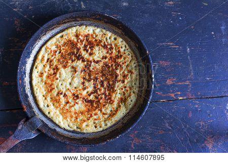 Pancakes made of wheat flour