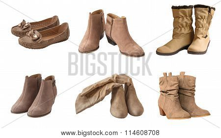 Set Beige Women's Shoes