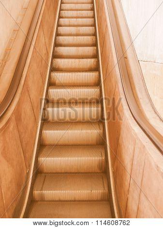 Escalator Vintage