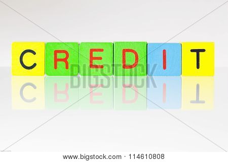Credit - An Inscription From Children's Blocks