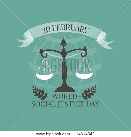 World Social Justice Day emblem
