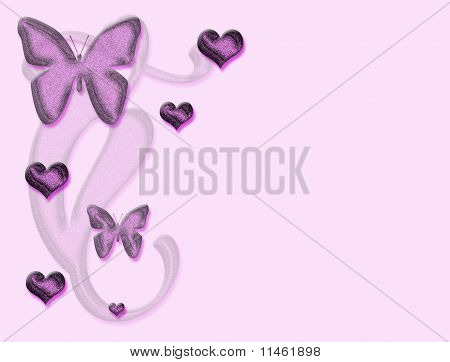 Valentine Butterflys