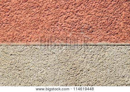 Texture Of Finishing  Walls.