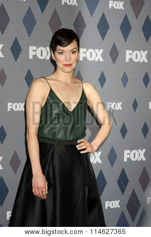 LOS ANGELES - JAN 15:  Britt Lower at the FOX Winter TCA 2016 All-Star Party at the Langham Huntington Hotel on January 15, 2016 in Pasadena, CA