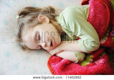 Sleeping Little Girl