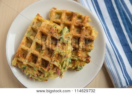 Home made Potato Waffles