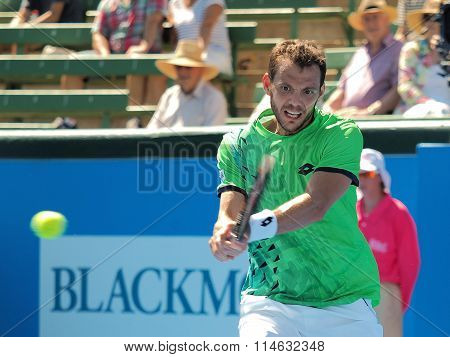 Paul-Henri Mathieu backhand