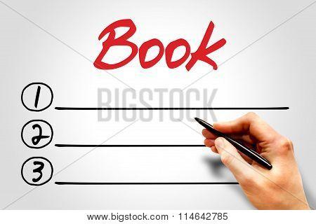 Book Blank List
