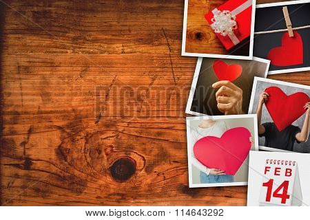Valentines Day Picture Collage