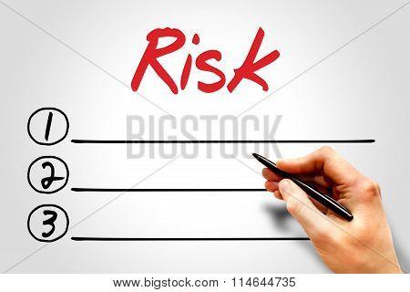 Risk Blank List
