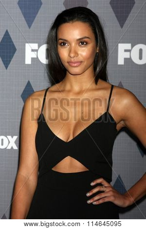 LOS ANGELES - JAN 15:  Jessica Lucas at the FOX Winter TCA 2016 All-Star Party at the Langham Huntington Hotel on January 15, 2016 in Pasadena, CA