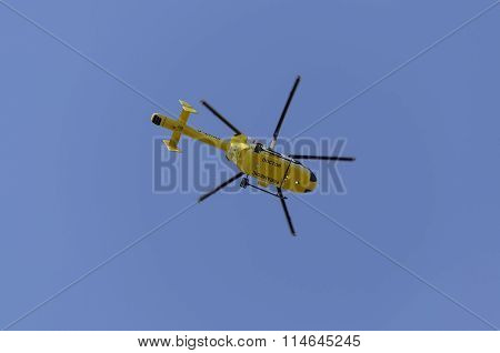 Airambulance helicopter