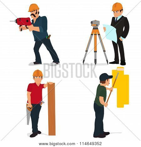 Set character builder and repairman