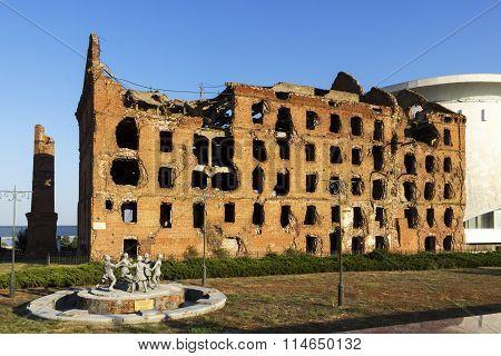 The Mill Gerhardt. Volgograd, Russia