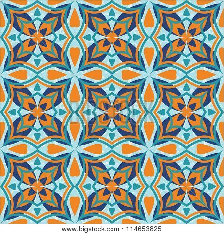 Vector seamless tile pattern background.