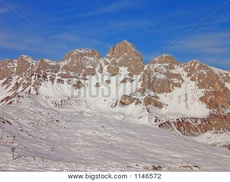 Ski Tour Dolomiti Alps Italy