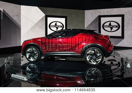 Scion C-HR Crossover Concept