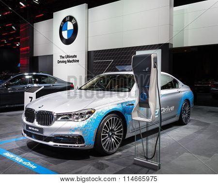 2016 BMW 740E Xdrive