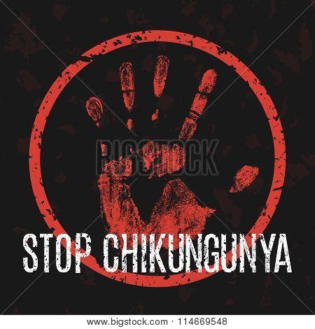Stop Chikungunya Sign