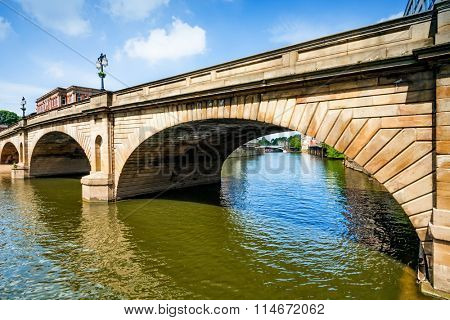 Bridge and River Ouse in York