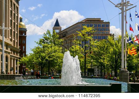 Us Navy Memorial Plaza