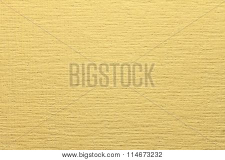 Yellow non-woven wallpaper for painting.