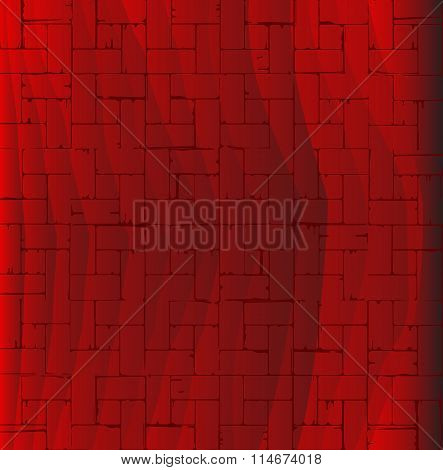 Red Parquet Flooring
