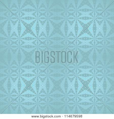 Seamless diamond pattern turquoise blue shiny