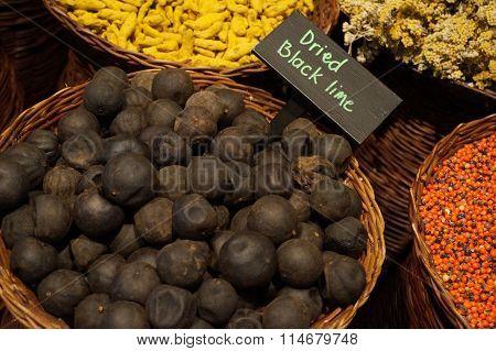 Dried Black Lemon