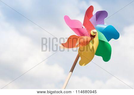 Colorful Pinwheel.
