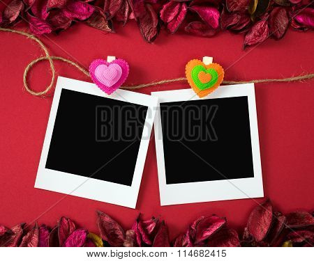 Photo Frames For Valentine's Theme