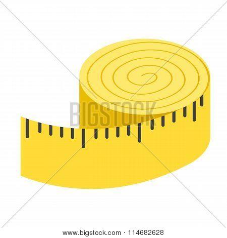 Centimeter isometric 3d icon