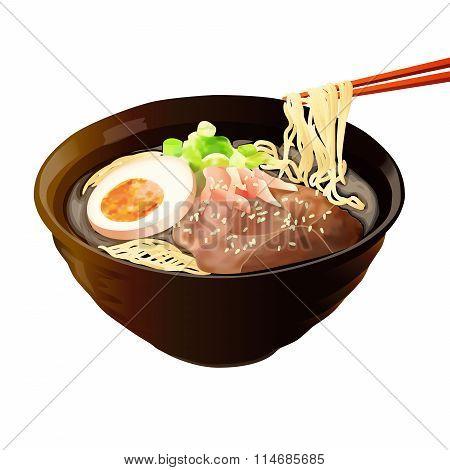 Food Illustration : Japanese Food Illustration